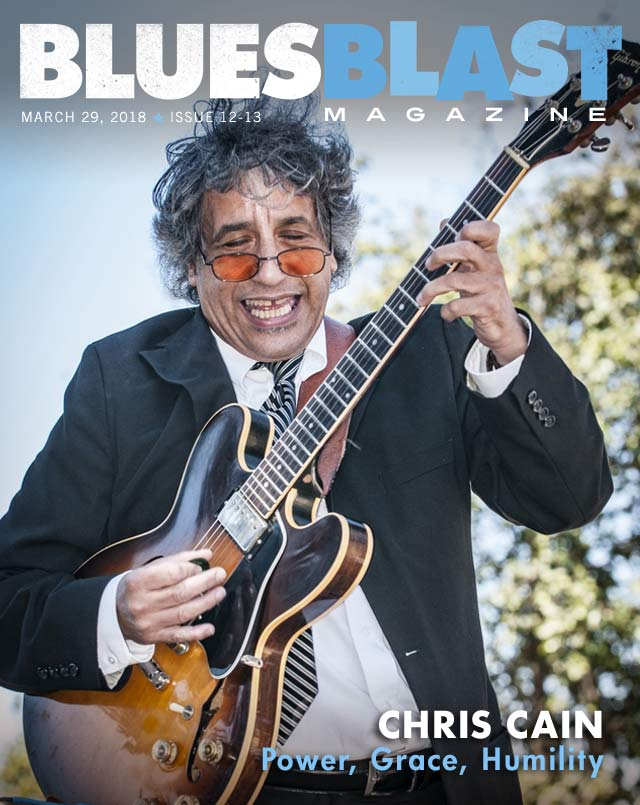 BluesBlast Magazine Cover March 2018