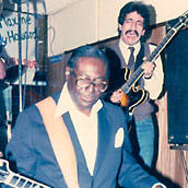 Chris Cain with Albert King
