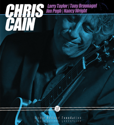 Chris Cain CD cover, Chris Cain