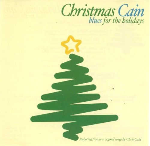 Cristmas Cain CD cover, Chris Cain