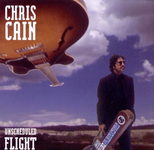 Unscheduled Flight CD cover, Chris Cain